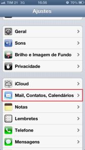 Ajuste - iPhone